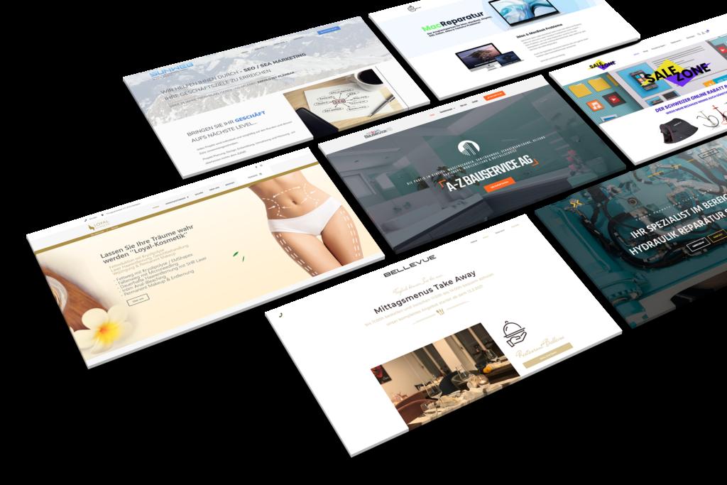 Presentation Web Mockup