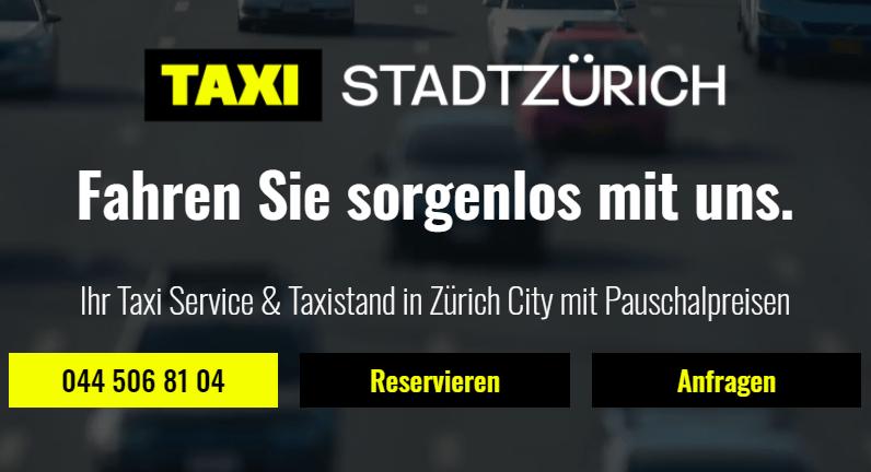 Bild-tax-stadt-zürich-City